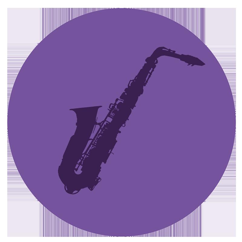 Saxaphone icon 1